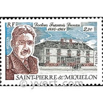 n.o 476 -  Sello San Pedro y Miquelón Correos