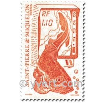 n.o 480/481 -  Sello San Pedro y Miquelón Correos