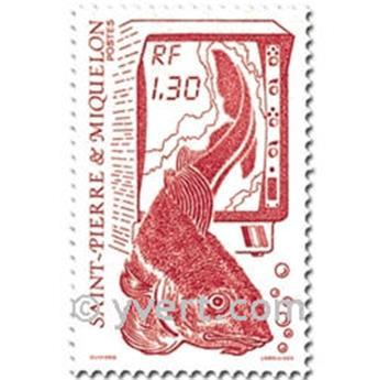 n.o 490/491 -  Sello San Pedro y Miquelón Correos