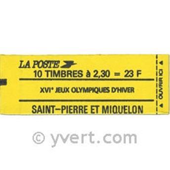 n° C518 -  Timbre Saint-Pierre et Miquelon Poste