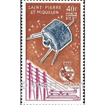 n° 32 -  Timbre Saint-Pierre et Miquelon Poste aérienne