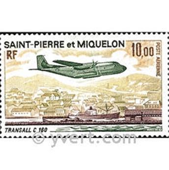 n° 57 -  Timbre Saint-Pierre et Miquelon Poste aérienne