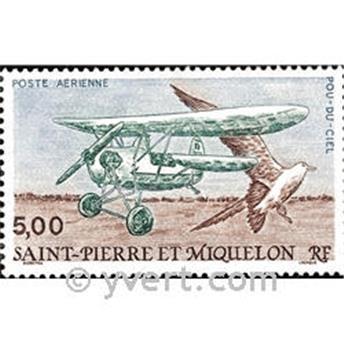 n.o 69 -  Sello San Pedro y Miquelón Correo aéreo