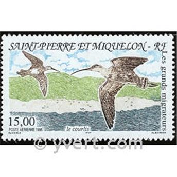 n.o 75 -  Sello San Pedro y Miquelón Correo aéreo