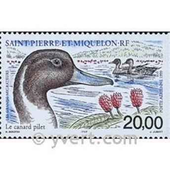 n.o 79 -  Sello San Pedro y Miquelón Correo aéreo
