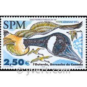 n.o 84 -  Sello San Pedro y Miquelón Correo aéreo