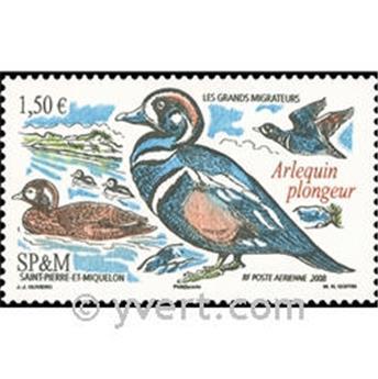 n.o 88 -  Sello San Pedro y Miquelón Correo aéreo