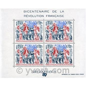 nr. 1 -  Stamp French Southern Territories Souvenir sheets