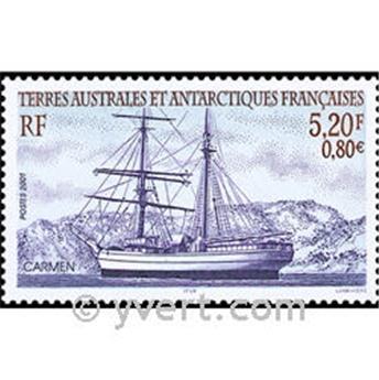 n.o 6 -  Sello Tierras Australes y Antárticas Francesas Bloque y hojitas