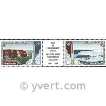n.o 16A  -  Sello Tierras Australes y Antárticas Francesas Correo aéreo