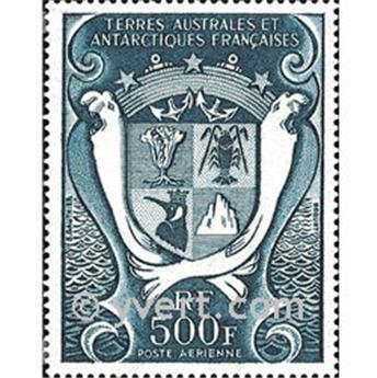 n.o 21 -  Sello Tierras Australes y Antárticas Francesas Correo aéreo