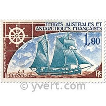 n.o 44 / 46 -  Sello Tierras Australes y Antárticas Francesas Correo aéreo