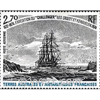 n.o 53 -  Sello Tierras Australes y Antárticas Francesas Correo aéreo