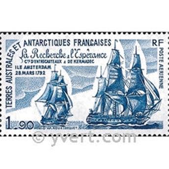 n.o 58 -  Sello Tierras Australes y Antárticas Francesas Correo aéreo