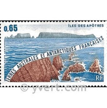 n.o 73 -  Sello Tierras Australes y Antárticas Francesas Correo aéreo