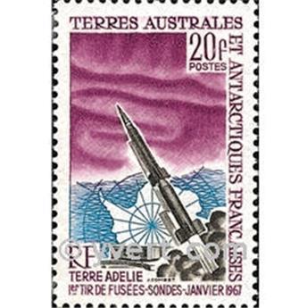 n.o 23 -  Sello Tierras Australes y Antárticas Francesas Correos