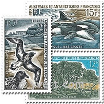 n.o 28 / 30 -  Sello Tierras Australes y Antárticas Francesas Correos