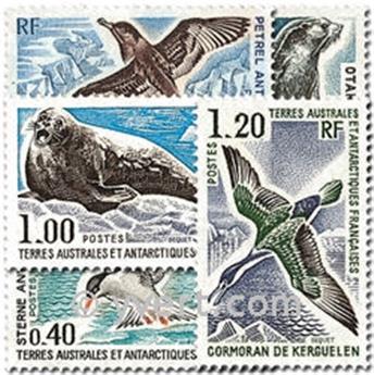 n.o 55 / 60 -  Sello Tierras Australes y Antárticas Francesas Correos