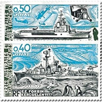 nr. 74/75 -  Stamp French Southern Territories Mail