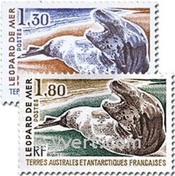 n° 89/90 -  Selo TAAF Correios