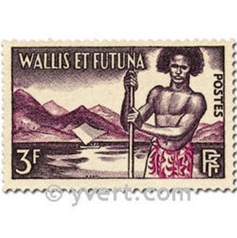 n° 157/158B -  Timbre Wallis et Futuna Poste