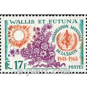 n.o 172 -  Sello Wallis y Futuna Correos