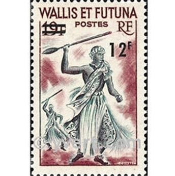 n.o 177 -  Sello Wallis y Futuna Correos