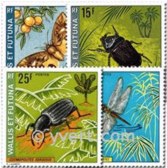 n° 185/188 -  Timbre Wallis et Futuna Poste