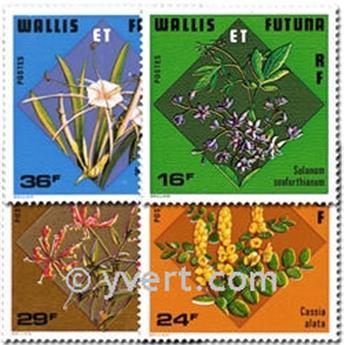 n° 213/216 -  Timbre Wallis et Futuna Poste