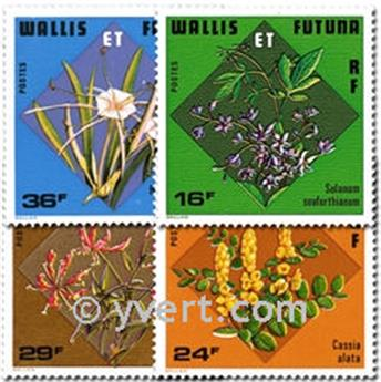 nr. 213/216 -  Stamp Wallis et Futuna Mail