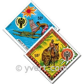 nr. 232/233 -  Stamp Wallis et Futuna Mail