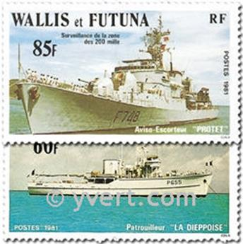 n.o 279/280 -  Sello Wallis y Futuna Correos