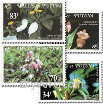 nr. 286/289 -  Stamp Wallis et Futuna Mail