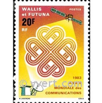 n.o 305 -  Sello Wallis y Futuna Correos