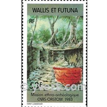n.o 322 -  Sello Wallis y Futuna Correos