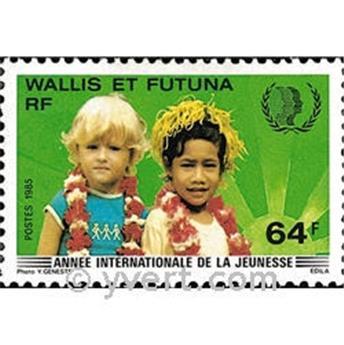 n.o 331 -  Sello Wallis y Futuna Correos