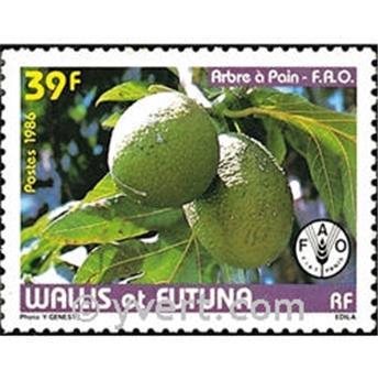n.o 335 -  Sello Wallis y Futuna Correos