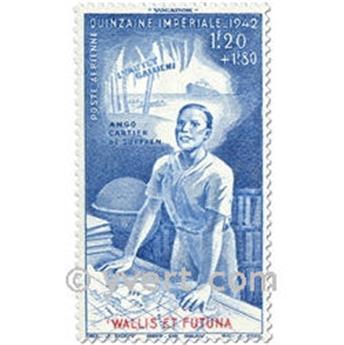 n° 3  -  Selo Wallis e Futuna Correio aéreo