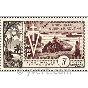 n° 14  -  Selo Wallis e Futuna Correio aéreo