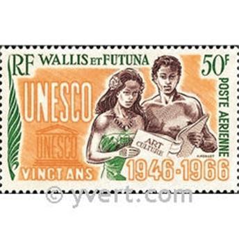 n.o 28 -  Sello Wallis y Futuna Correo aéreo