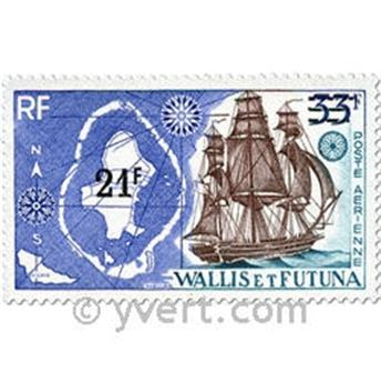 n.o 38 -  Sello Wallis y Futuna Correo aéreo