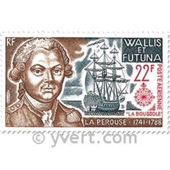n° 44/47  -  Selo Wallis e Futuna Correio aéreo
