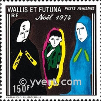 n° 57 -  Timbre Wallis et Futuna Poste aérienne