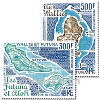 n° 80/81 -  Timbre Wallis et Futuna Poste aérienne