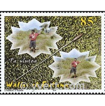 n° 9 -  Timbre Wallis et Futuna Bloc et feuillets