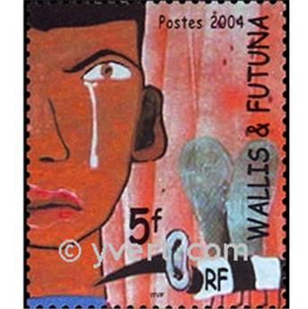 n° 14 -  Selo Wallis e Futuna Blocos e folhinhas