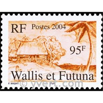 n.o 18 -  Sello Wallis y Futuna Bloque y hojitas