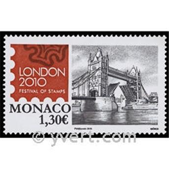 n° 2741 -  Selo Mónaco Correios
