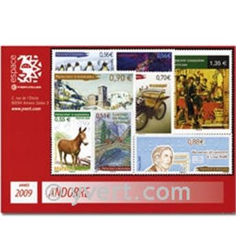 nr. 666/680 -  Stamp Andorra Year set (2009)