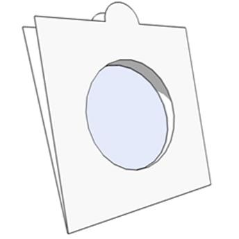 COIN HOLDERS: 30 mm - SELF SEALING
